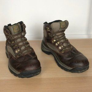 TIMBERLAND leather brown / green gore Tex sz 6